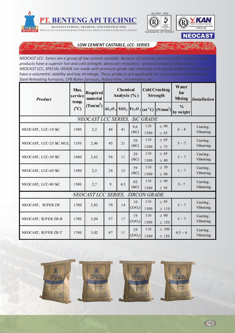 10 LOW CEMENT CASTABLE, LCC- SERIES SiC GRADE-page-001